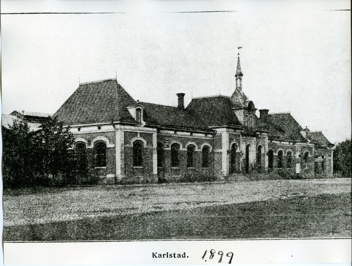 Karlstad 1899. Gatusidan