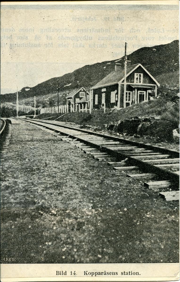Kopparåsen station.