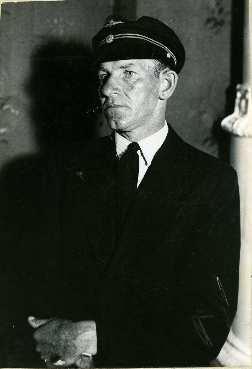 Krylbo-olyckan. Lokförare Johan Falk.