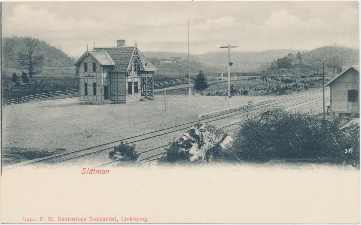 Slätmon station