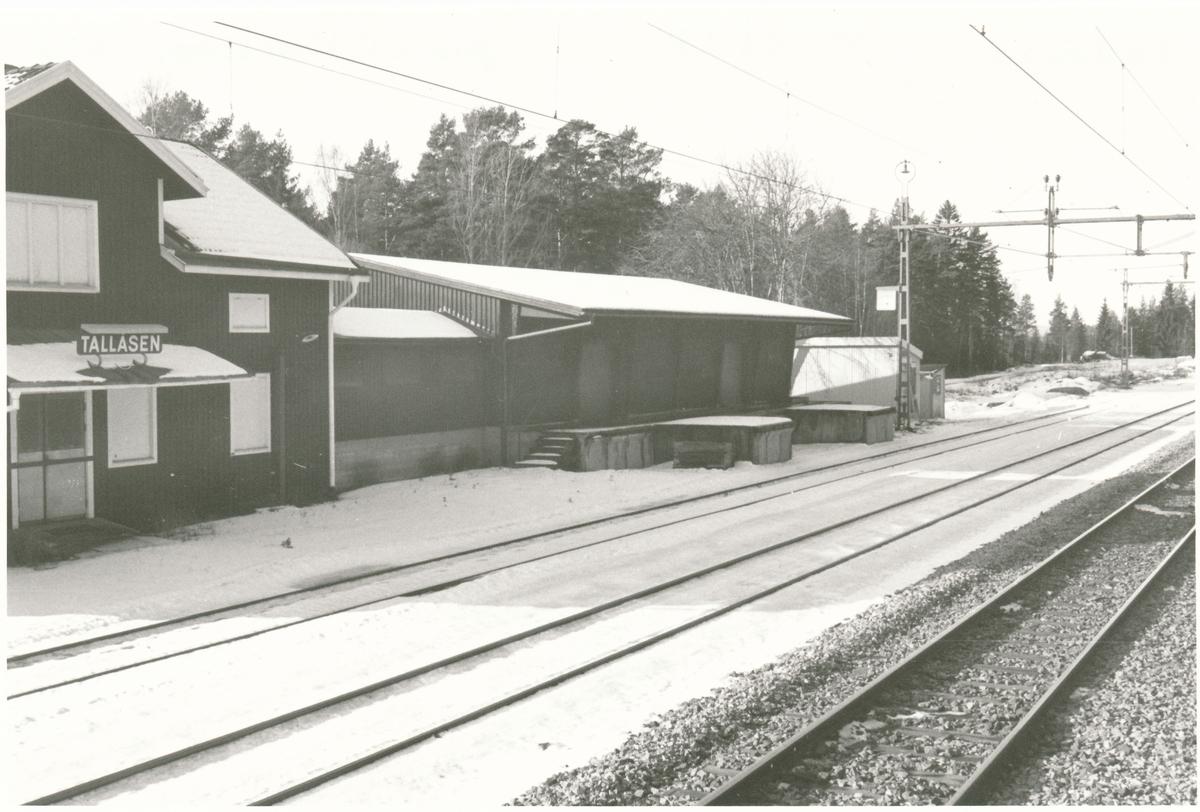 Tallåsens station.