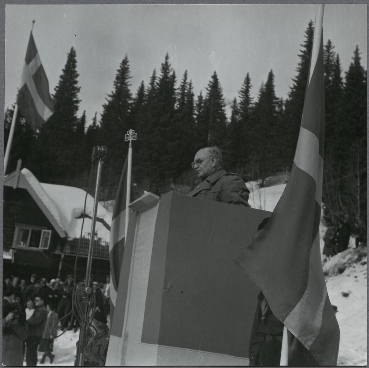 Invigningstal i samband med invigning av Åre linbana