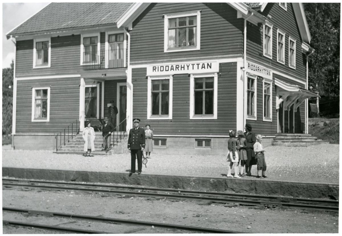 Riddarhyttans Station.