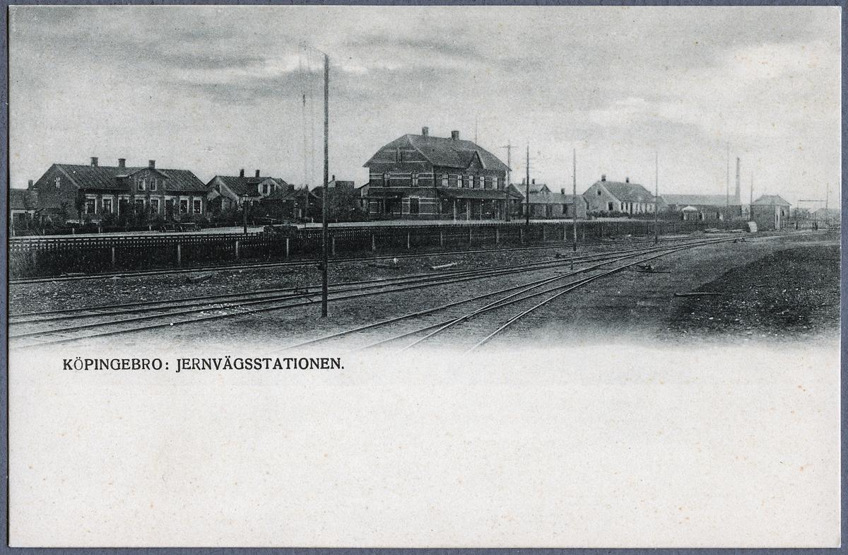 Köpingebro station.