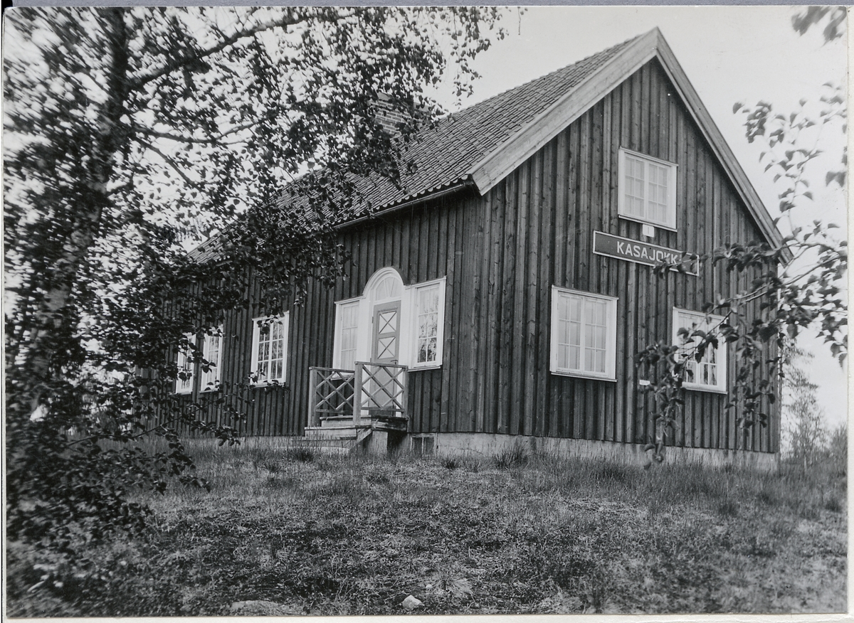 Stationsstugan vid Kasajokk.