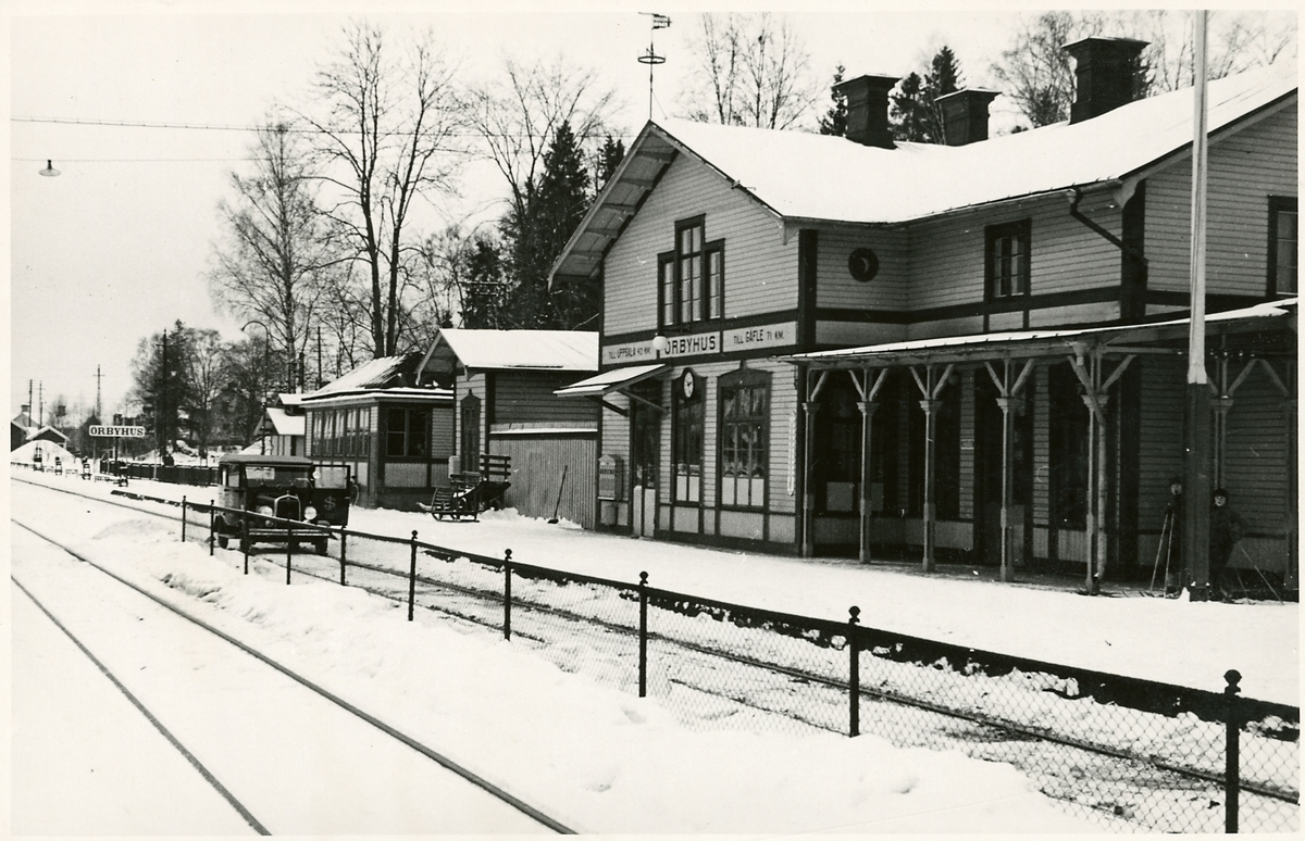 Örbyhus station.