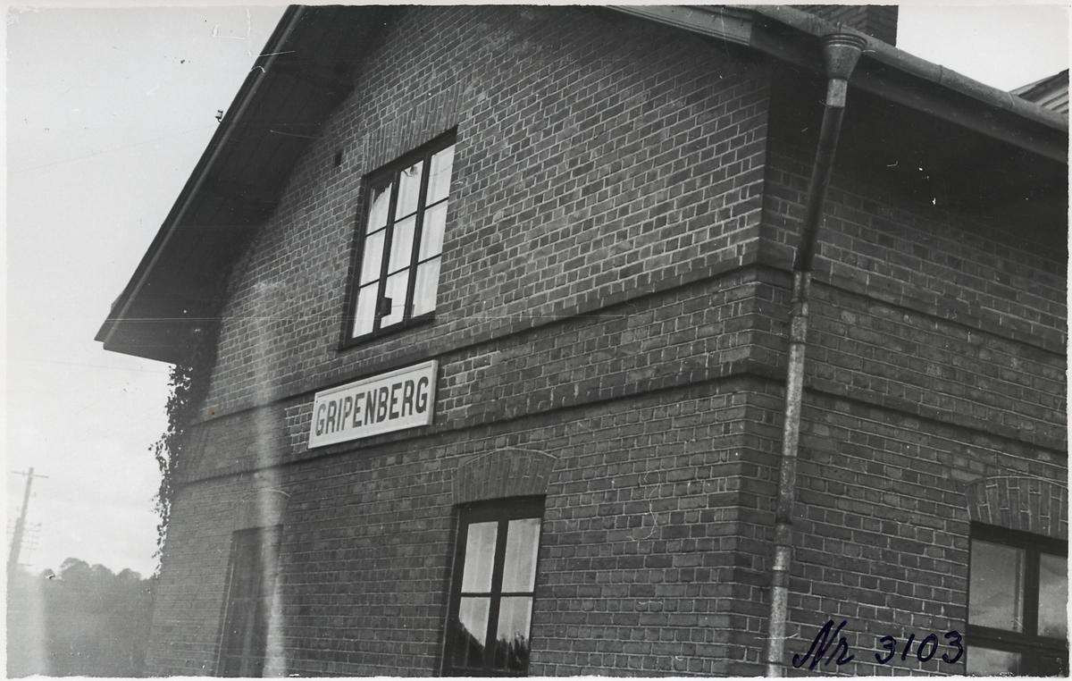 Gripenberg stationshus.