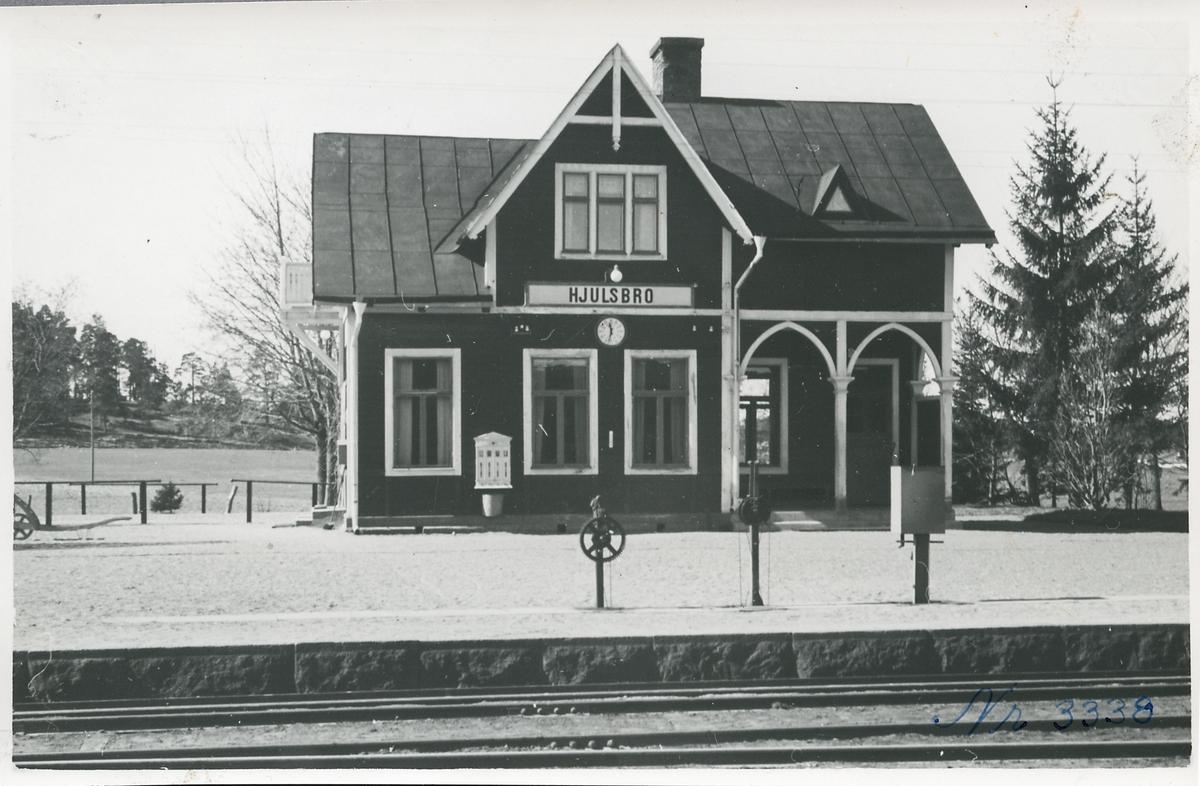 Hjulsbro station.