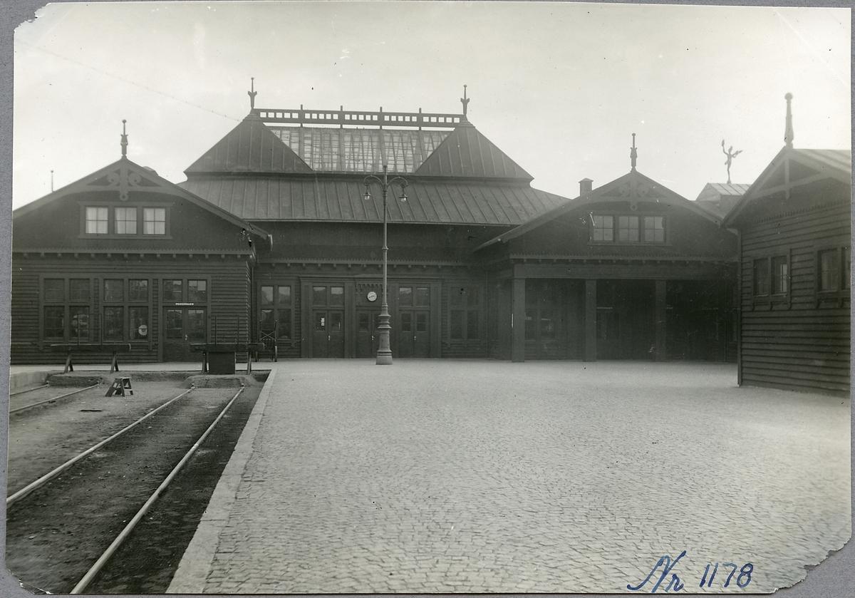 Stationshuset vid Helsingborg F (färjestation).