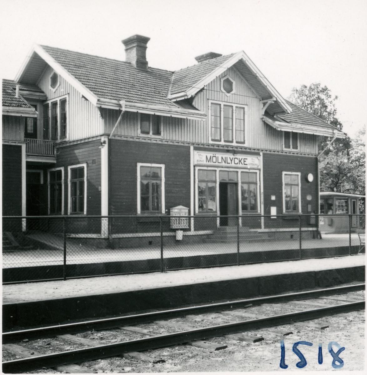 Mölnlycke stationshus.