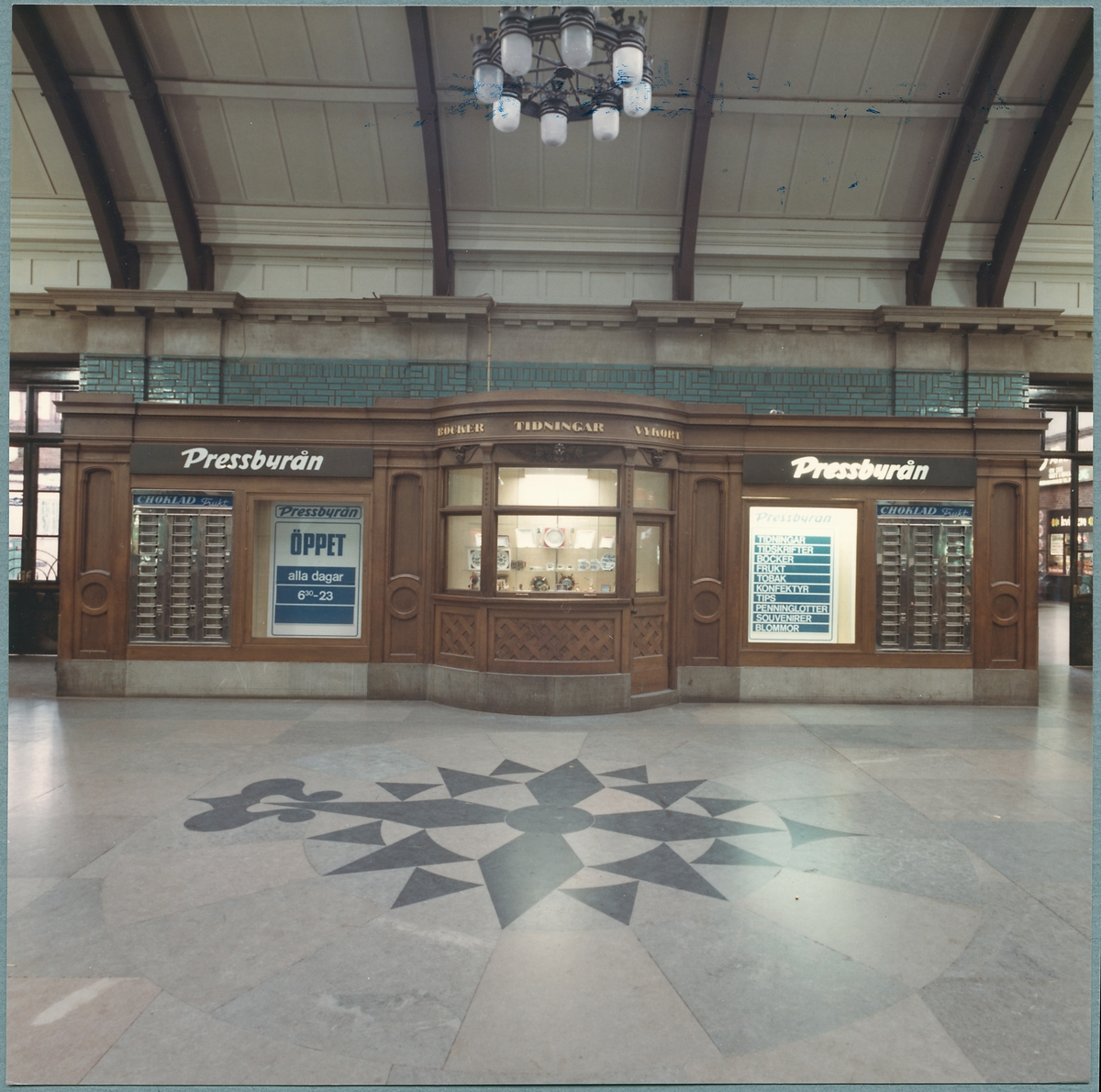 Pressbyrån på Malmö centralstation.
