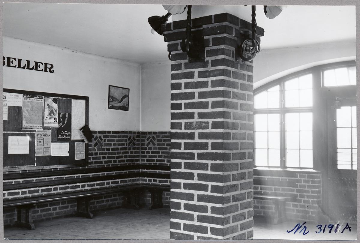 Nyvång stationshus interiör.