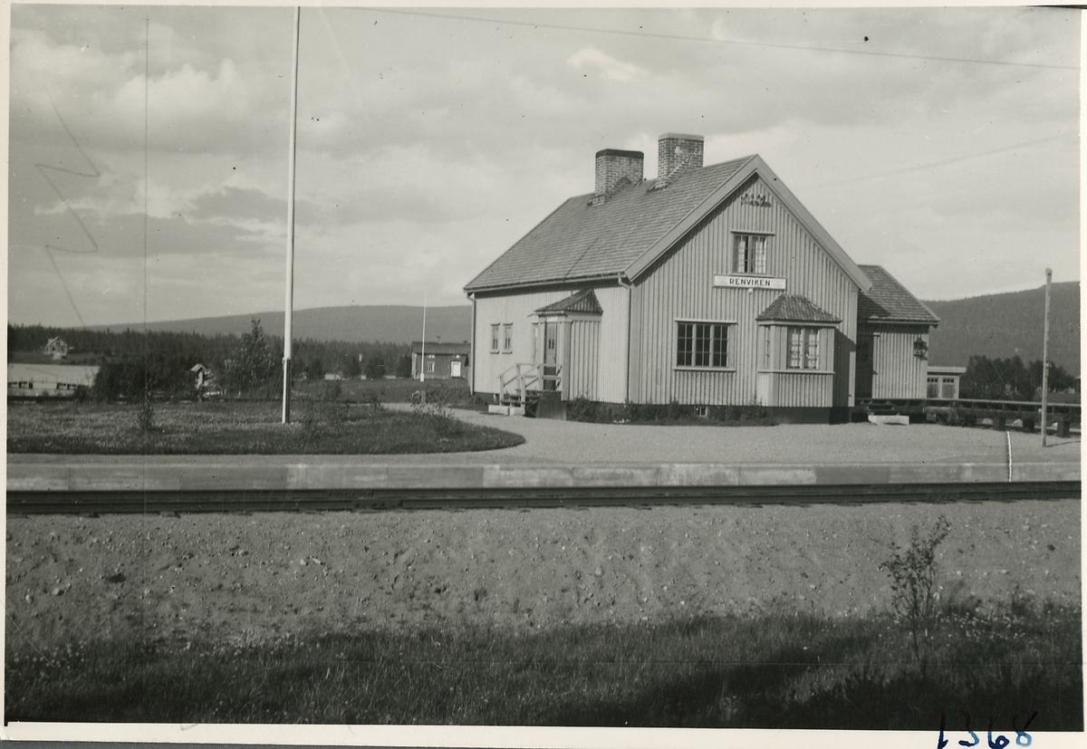 Stationsstuga vid Renviken