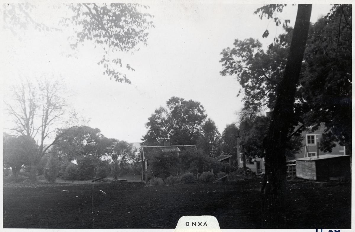Platsen för byggandet av busstationen i Sigtuna.