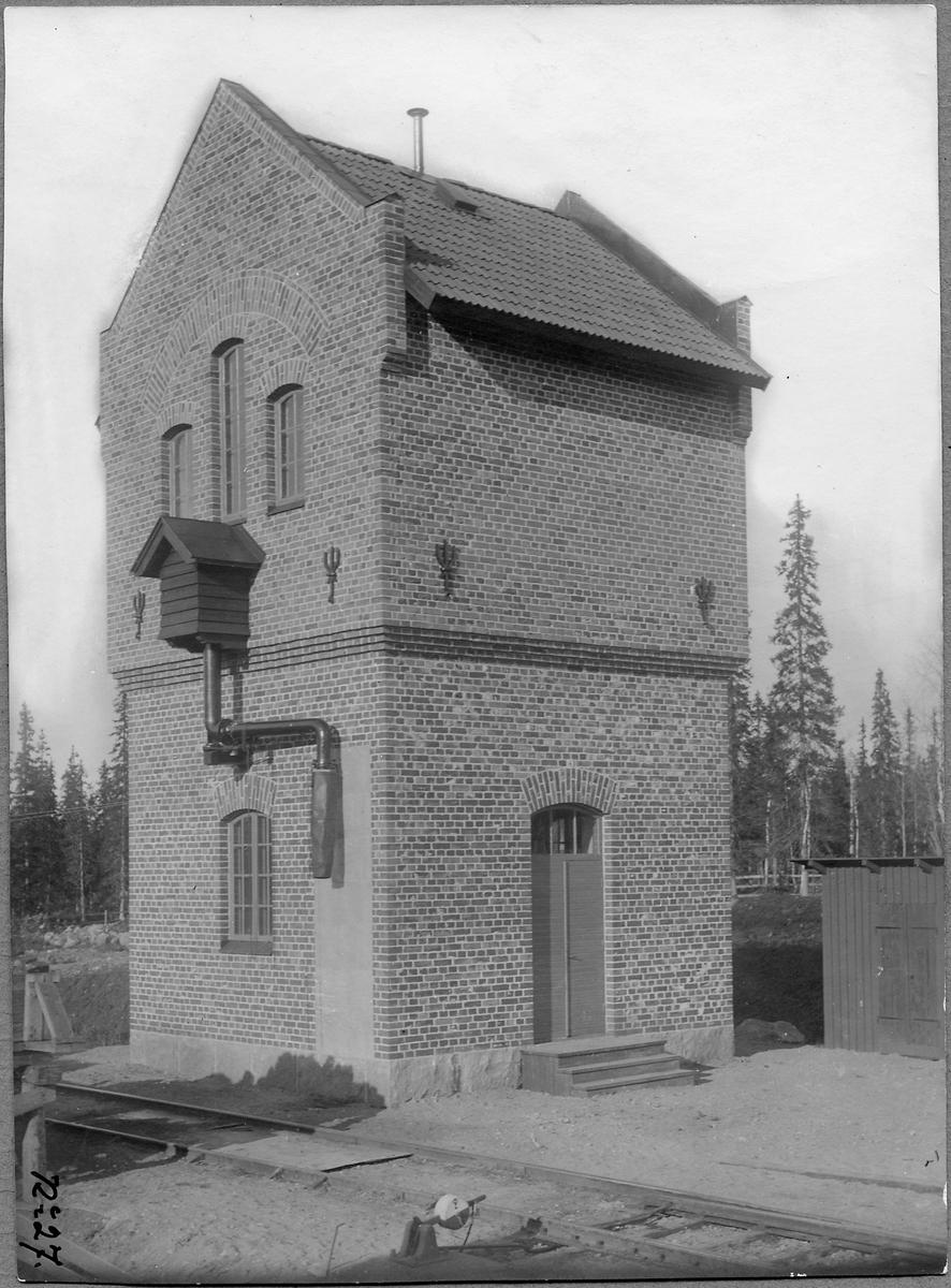Vattentorn i Vitvattnet.