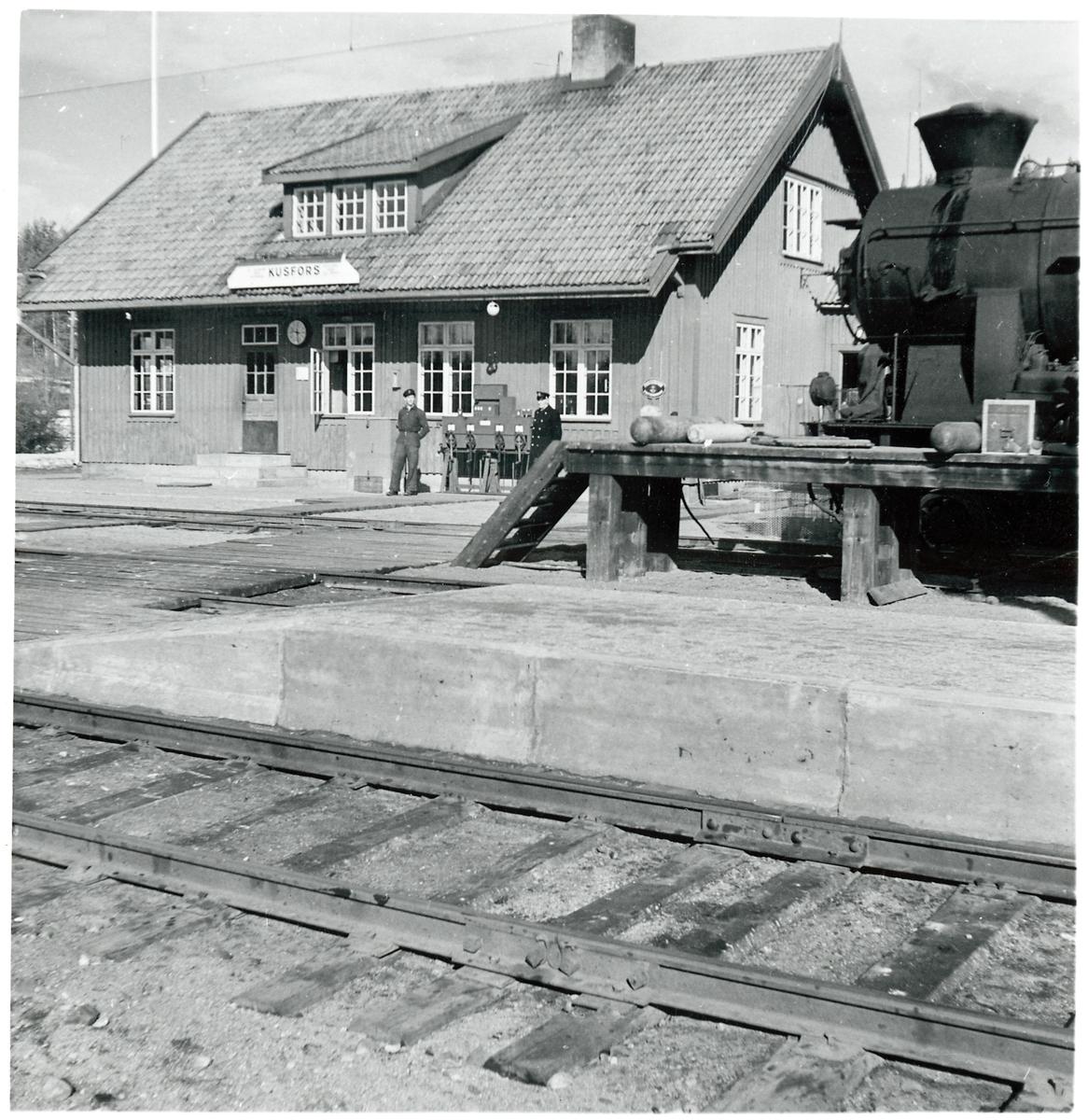 Stationshuset i Kusfors.