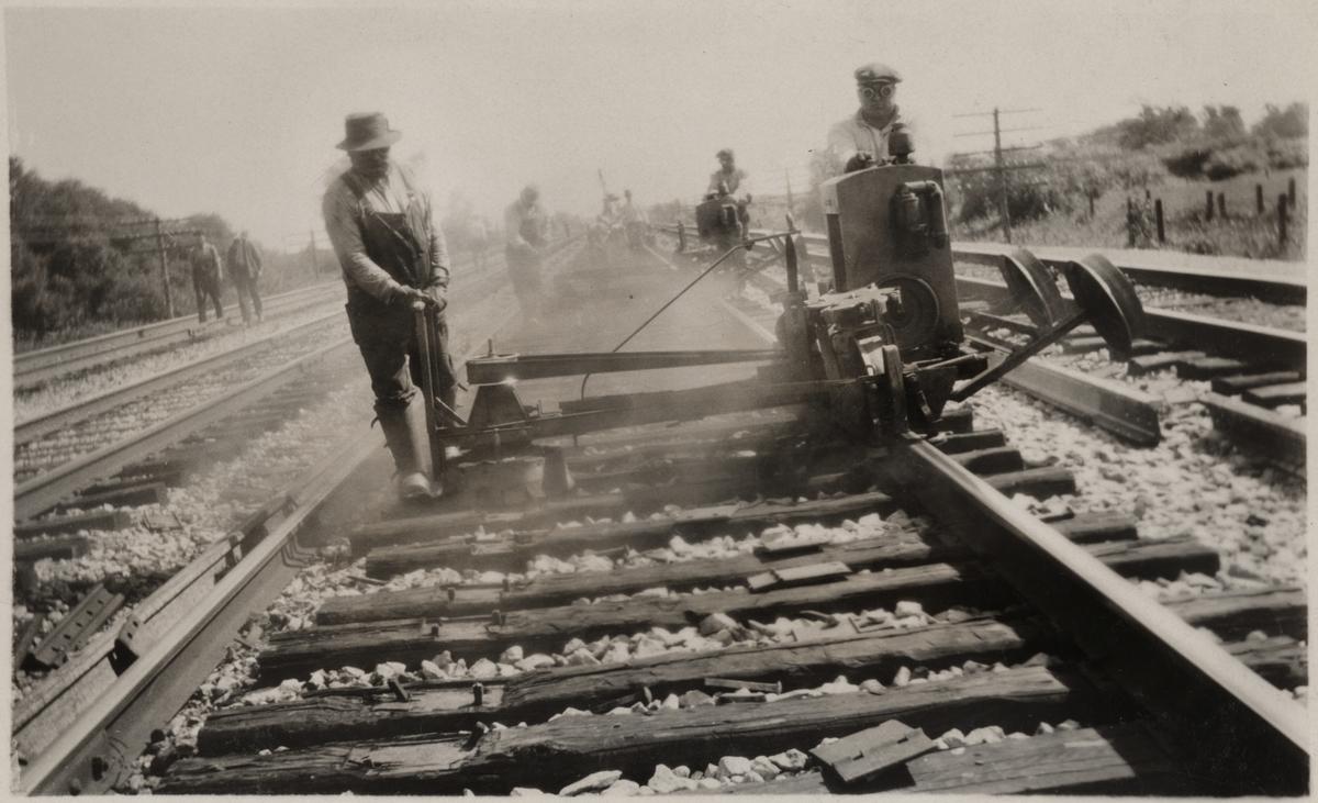 Laftning, Amerika 1932.