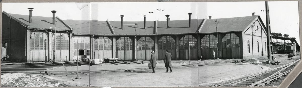 Lokstall, Linköping. Ursprungligen uppfört av Statens Järnvägar.