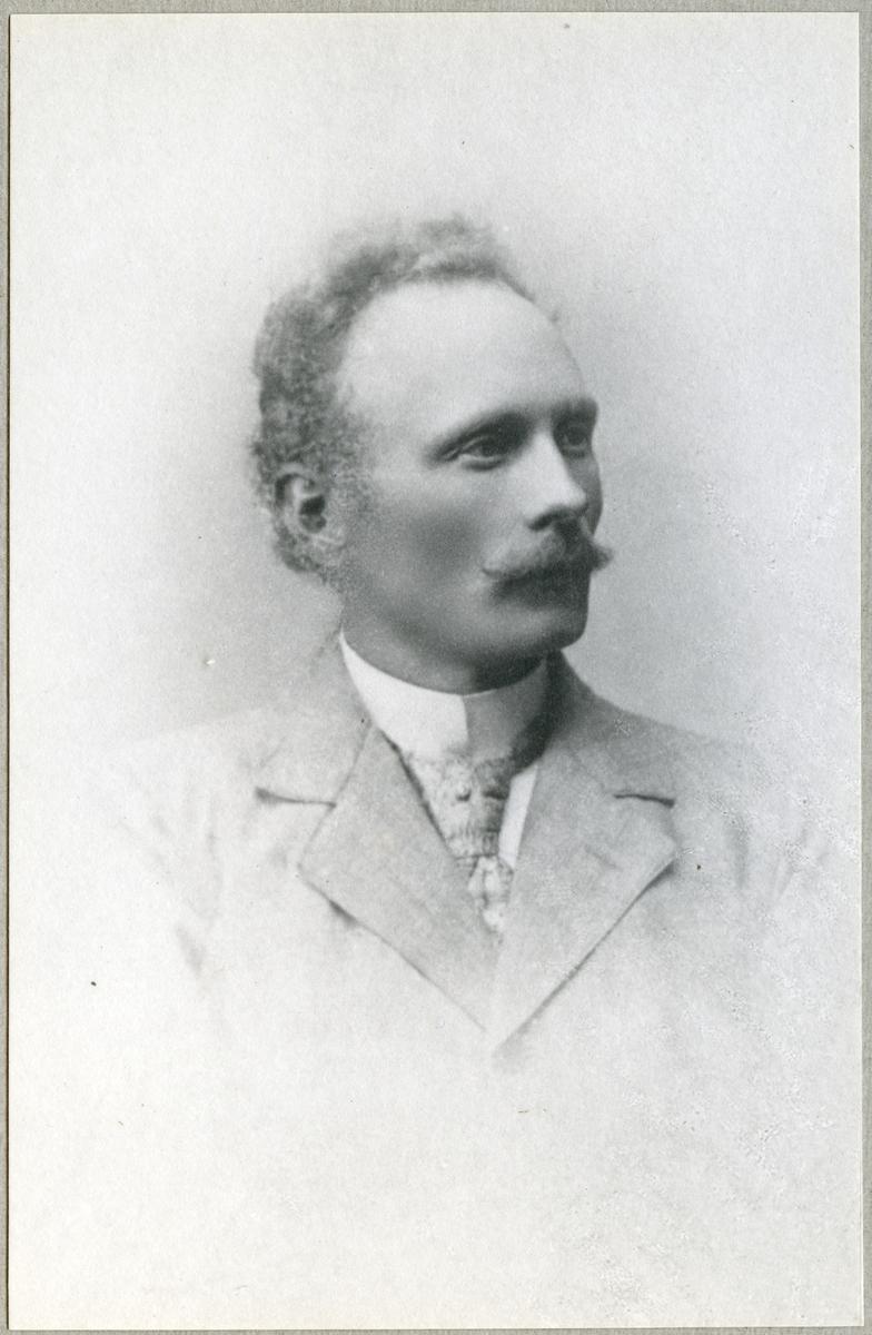 Förrådsmästare Georg Sandkvist.