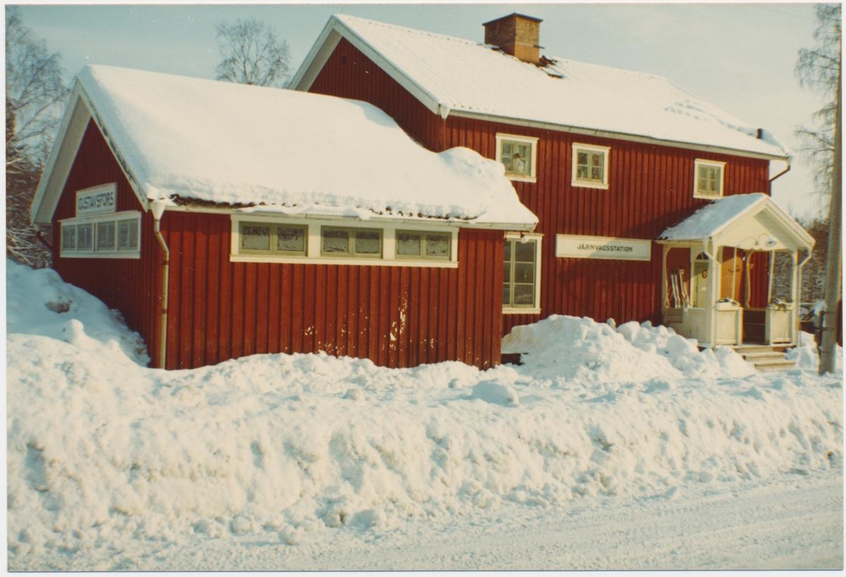 Gustavsfors stationshus.
