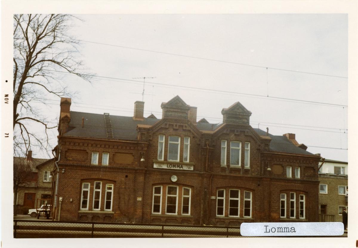 Lomma station.