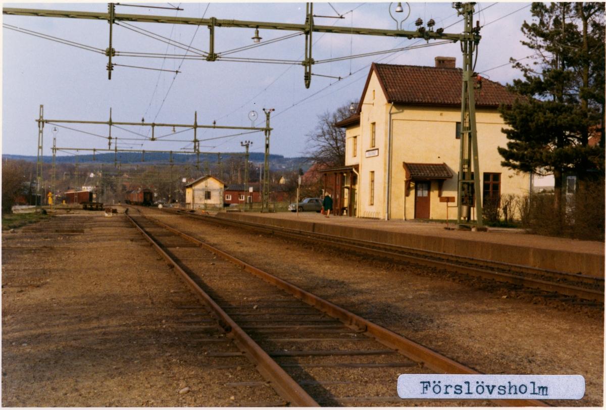 Förslövsholm station.