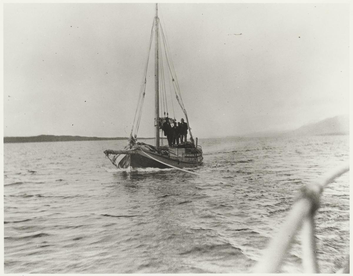 Provianttransport på Torneträsk