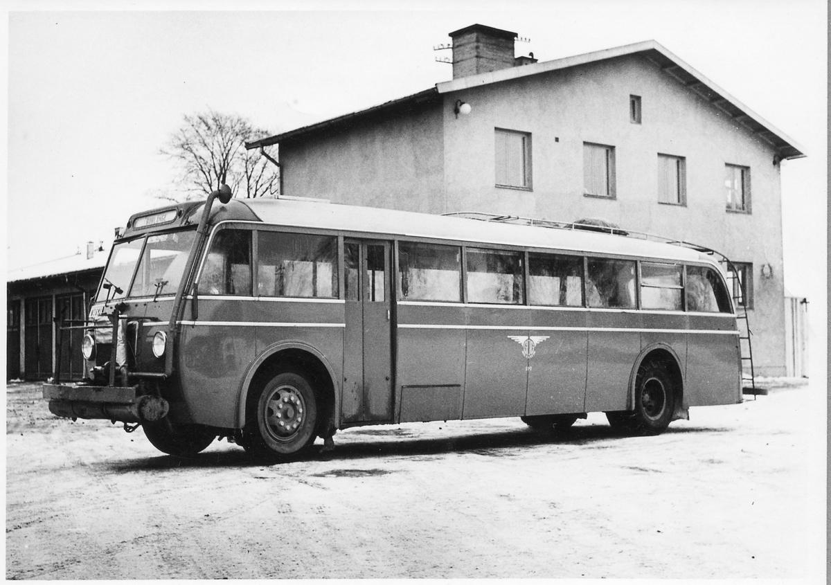 Trafikförvaltningen Göteborg - Dalarne - Gävle, GDG Buss Scania-Varbis med Gengas.