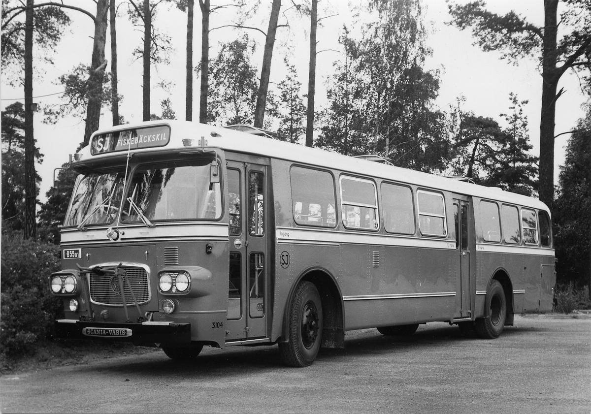 Statens Järnvägar, SJ buss 3104.