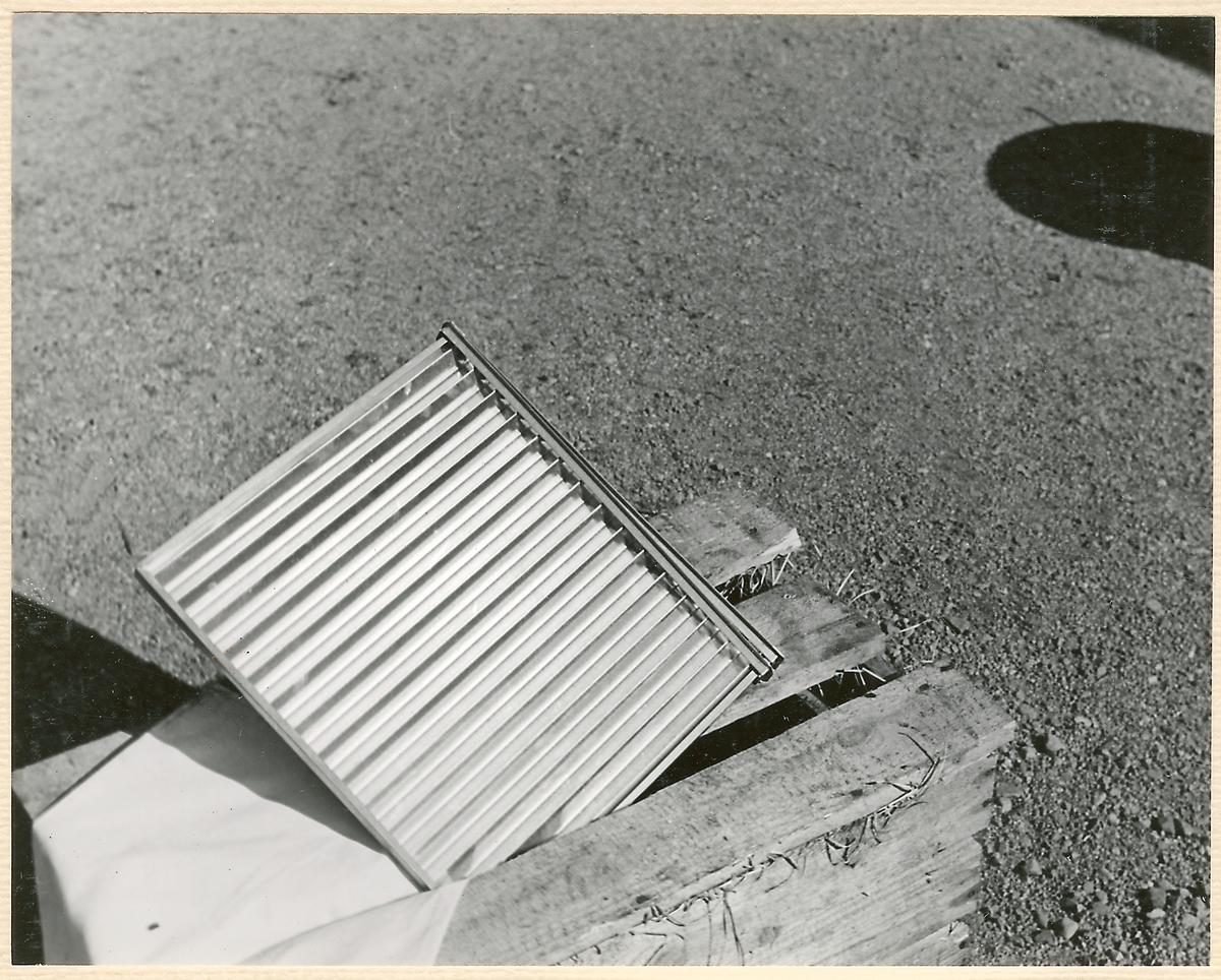 Fotoserie av Ostermans gengasutrustning.
