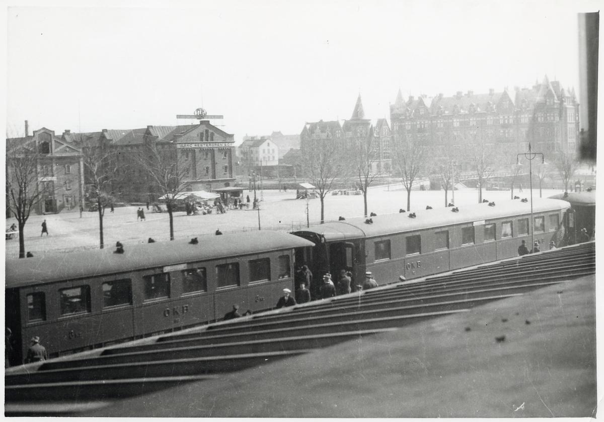 Ostkustbanan, OKB-tågsätt vid Gävle Central.