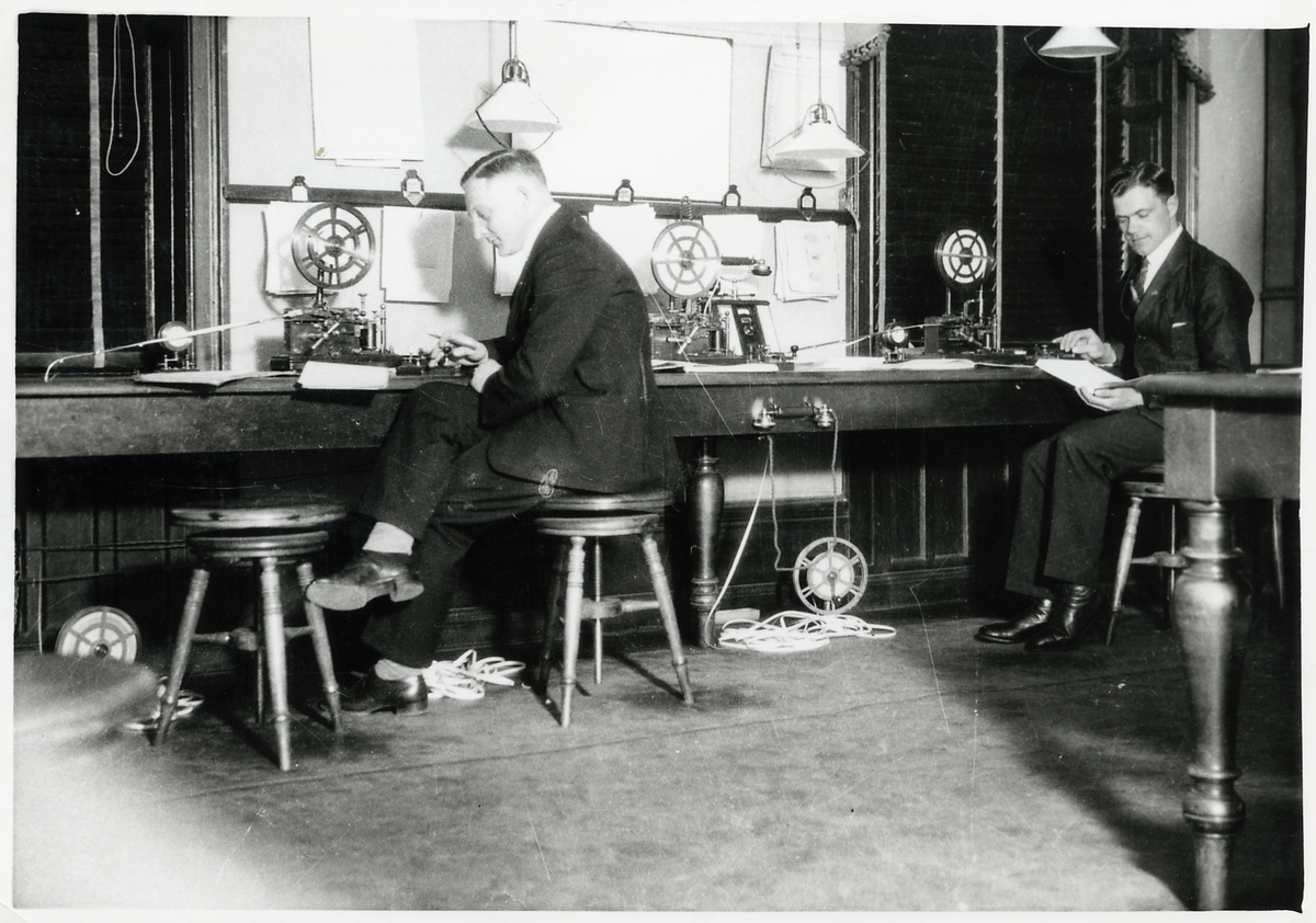 Telegrafexpeditionen, Gävle centralstation.