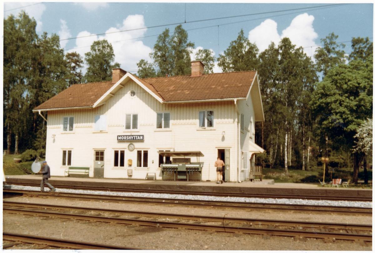 Morshyttan station.