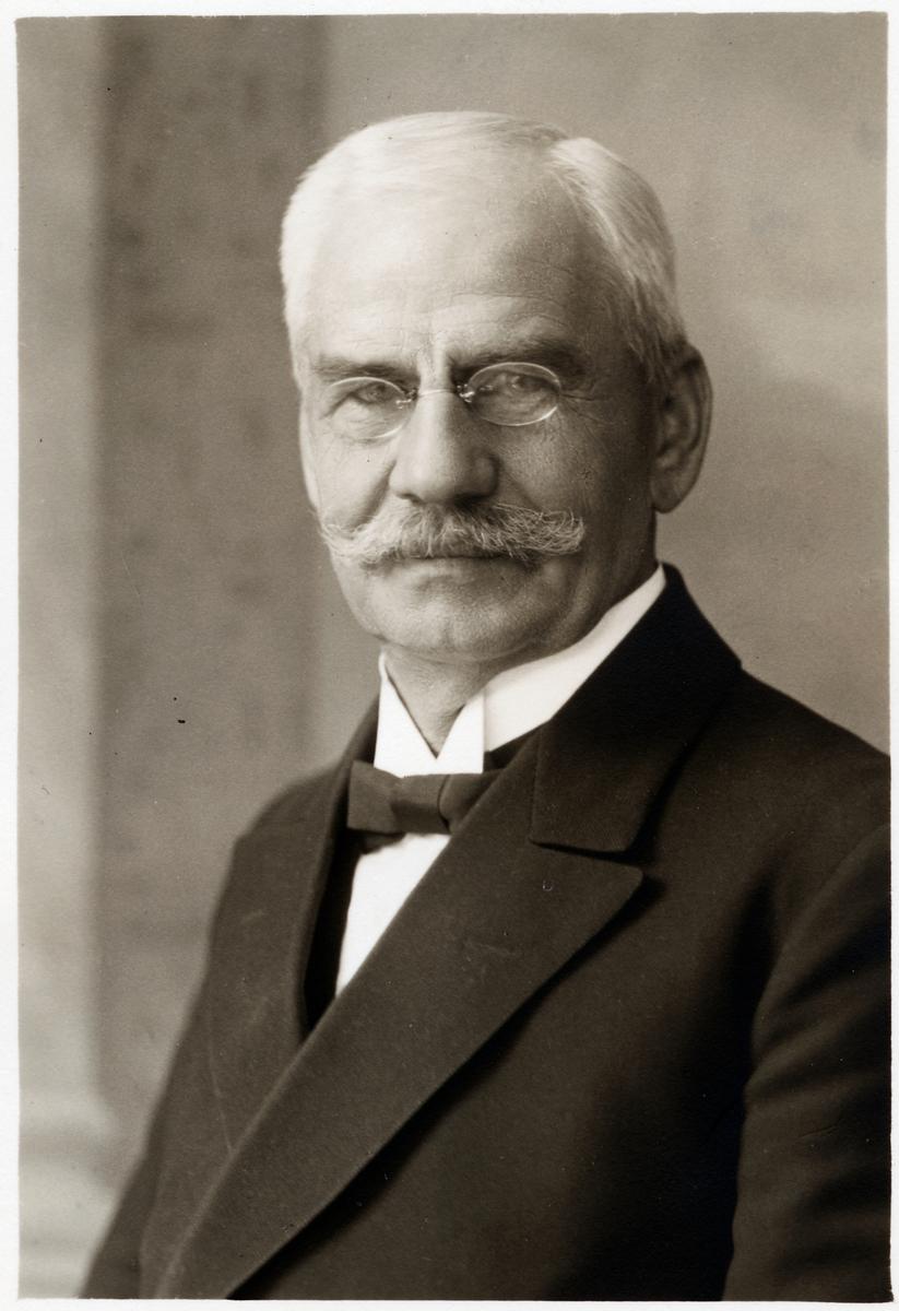 Stationsmästare Manne Gerhard Johansson.
