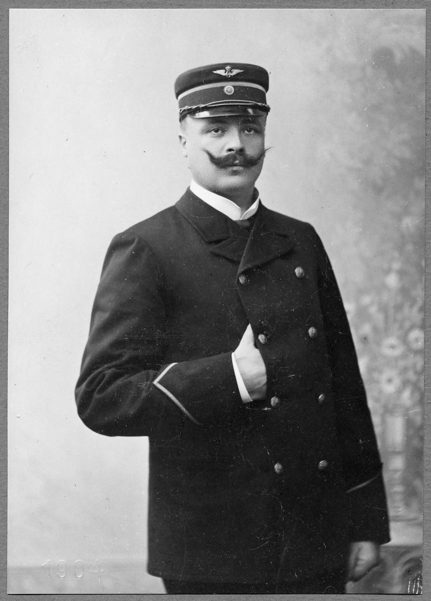 Stationsskrivare K. J. J:son Nordenwall.