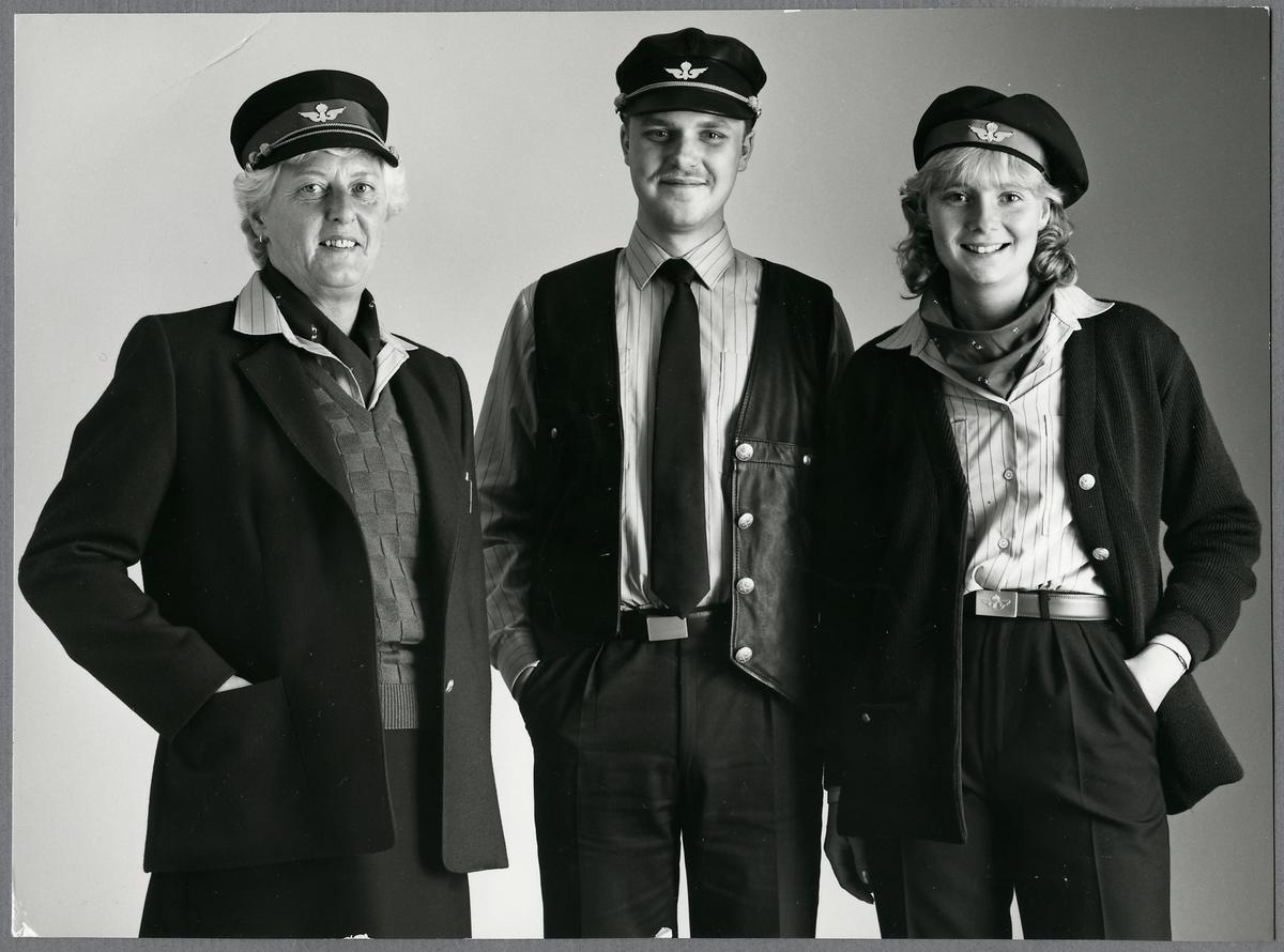 Järnvägspersonal.