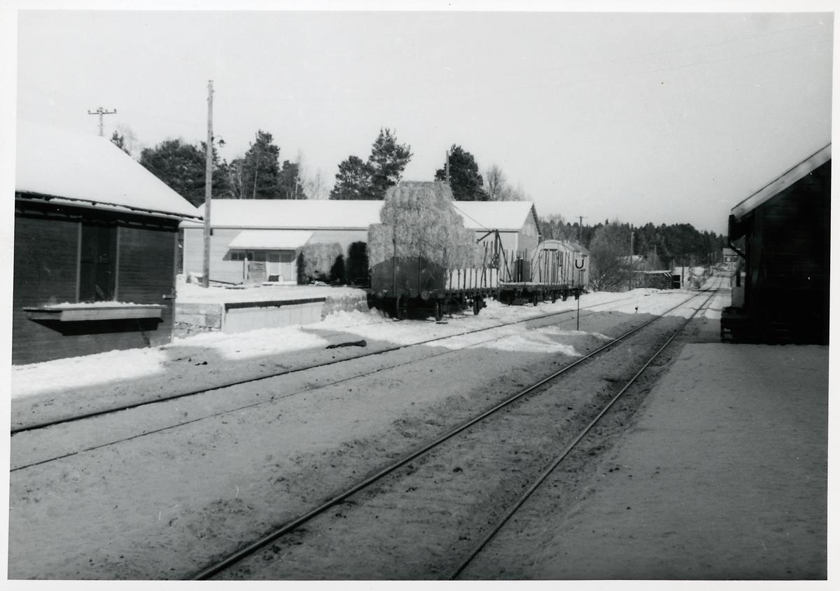 Mattmar station mot öster.