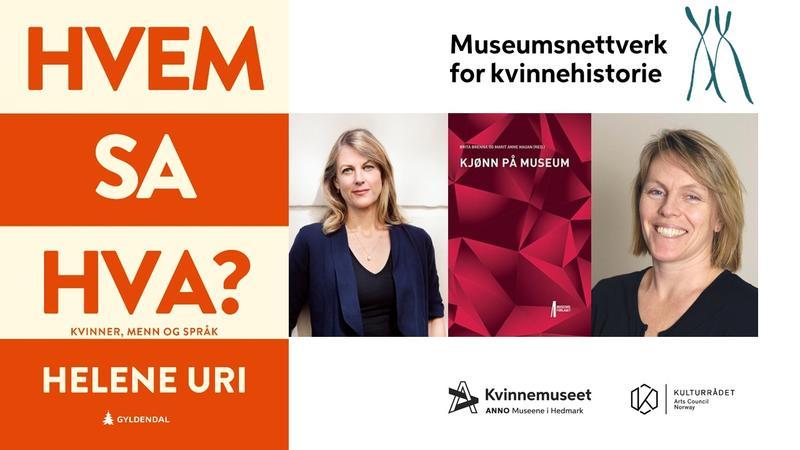 Plakat - møte i museumsnettverk for kvinnehistorie (Foto/Photo)