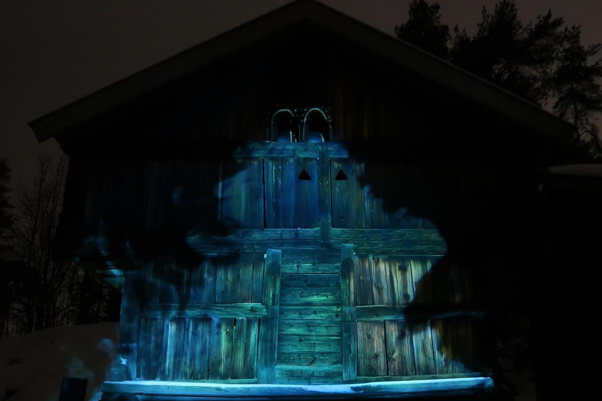 """""""Nytt lys"""" på Norsk Folkemuseum 25. - 27. jan. 2019. Foto: Astrid Santa, Norsk Folkemuseum"""