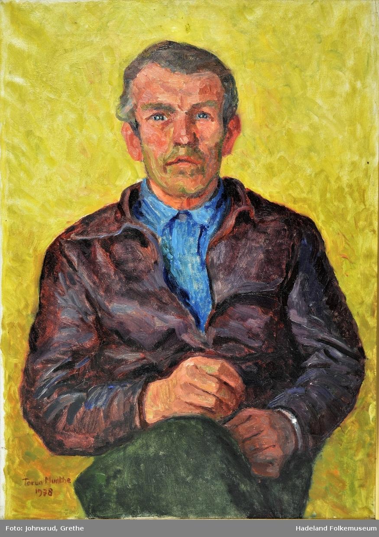 Portrett av Leif Nymoen Olsen