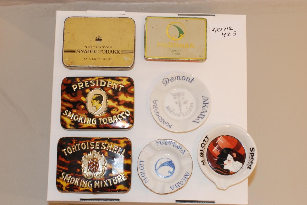 1. Marmaca Turkish Blend 2. Nikotinsvak snadde tobakk 3. Tortoise Sholl smoking mixture 4. President Smoking Tobacco