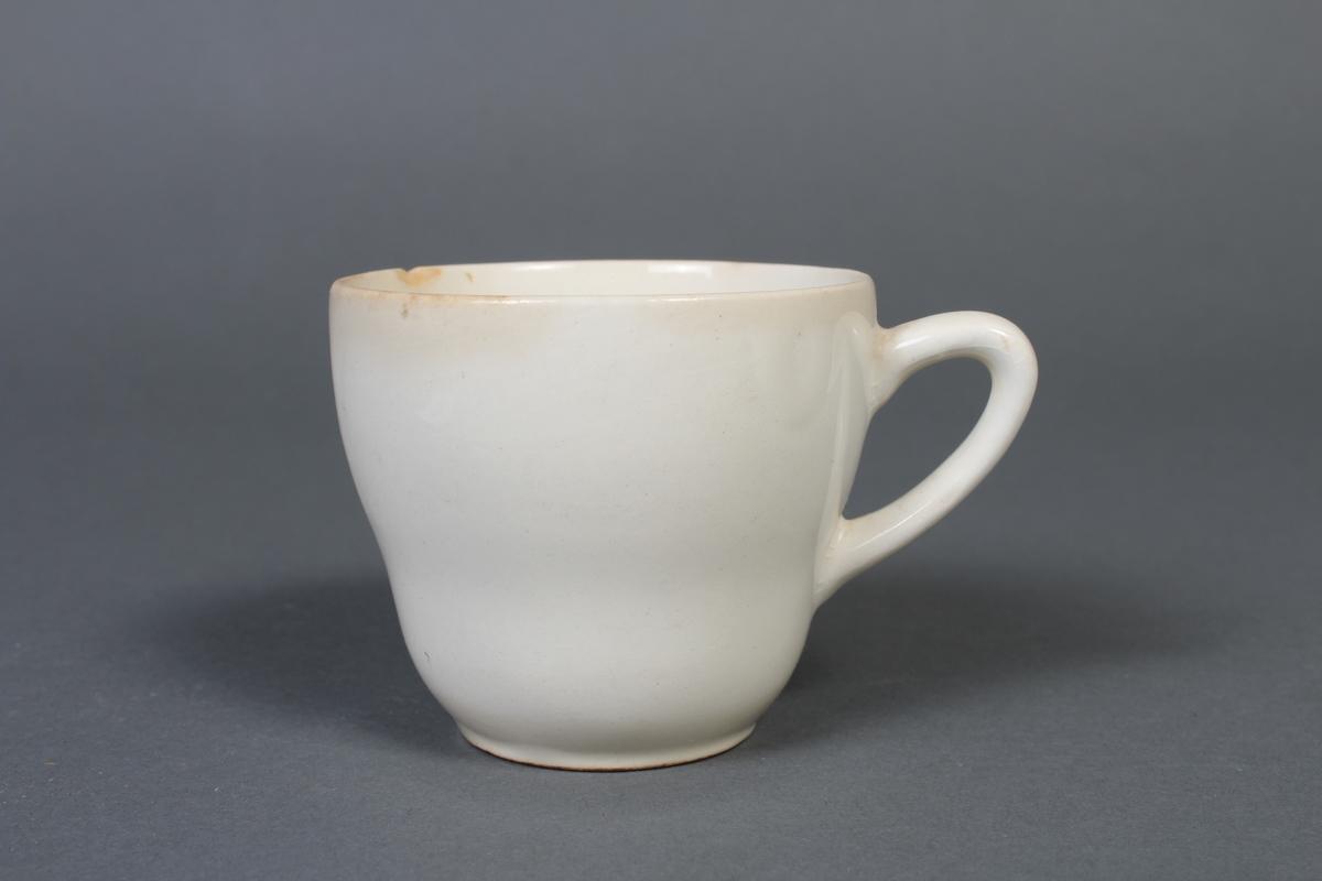 Kvit kaffikopp