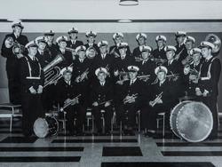 Løiten Musikkforening 1862-1962. Gruppe 23 musikkere med in
