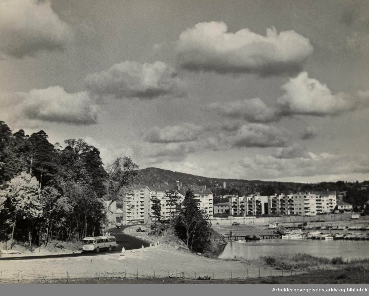 Frognerkilen. September 1959