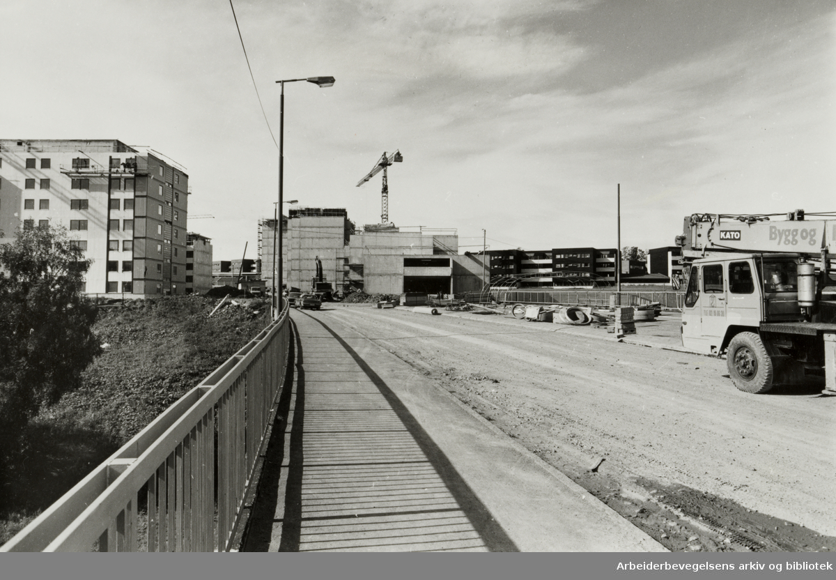 Furuset. Det nye Furuset sentrum. Oktober 1979