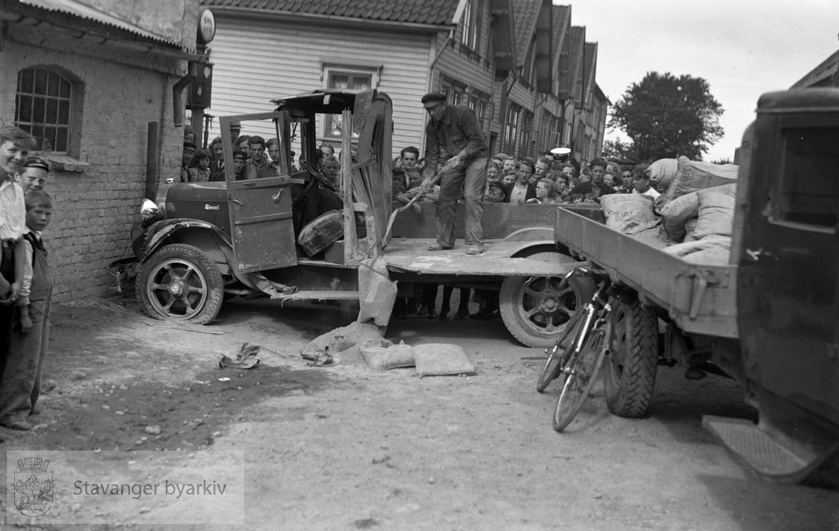 Trafikkulykke i Harald Hårfagres gate