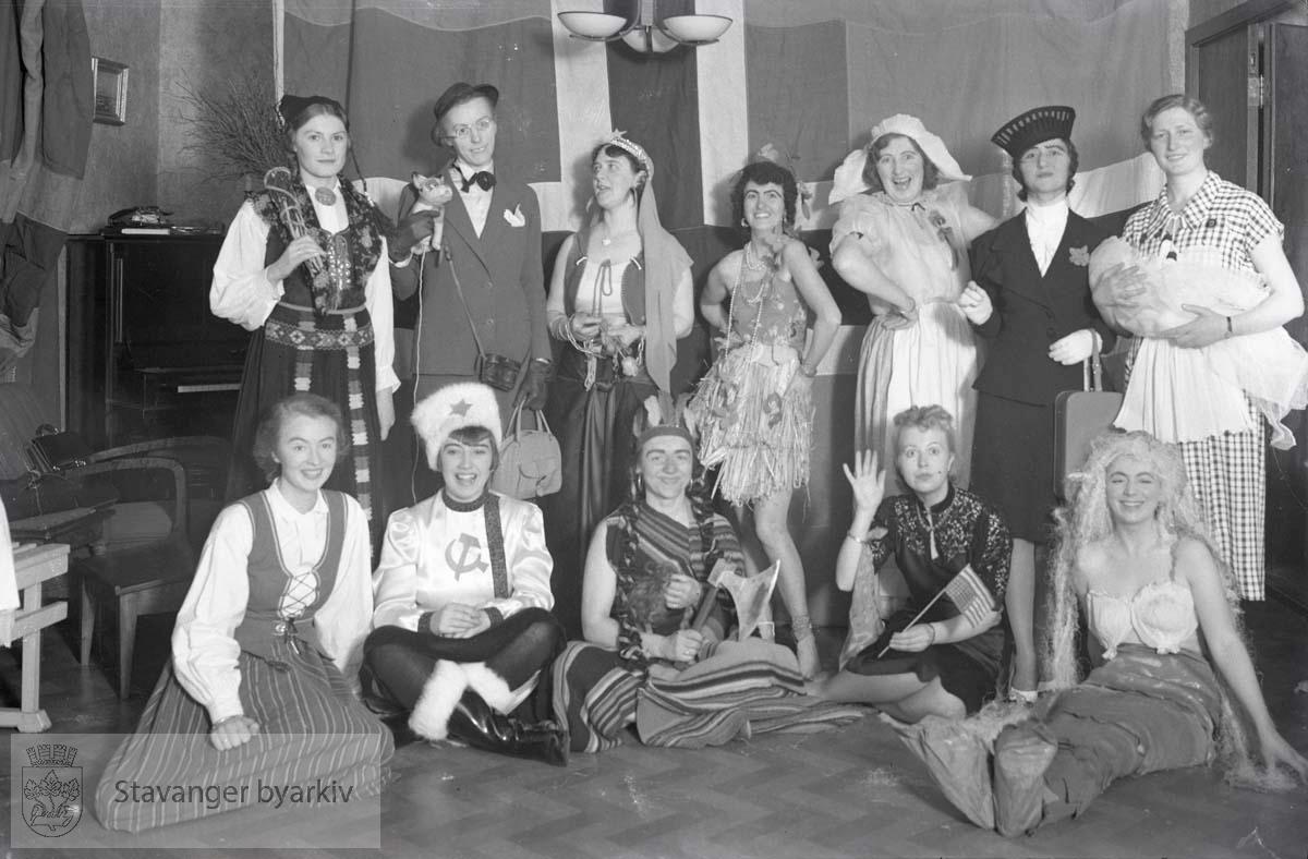 Karneval/kostymefest for Yrkeskvinners klubb