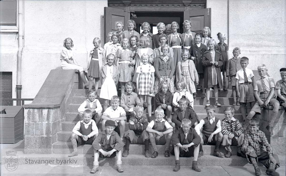 Første skoledag i august 1939