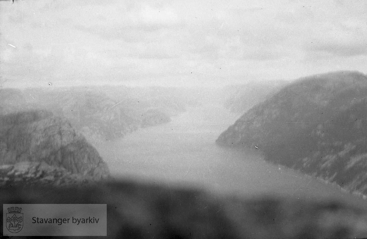 Tur til Lysefjord / Preikestolen