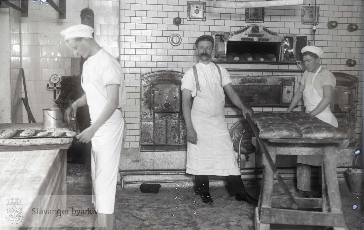 Tre bakere